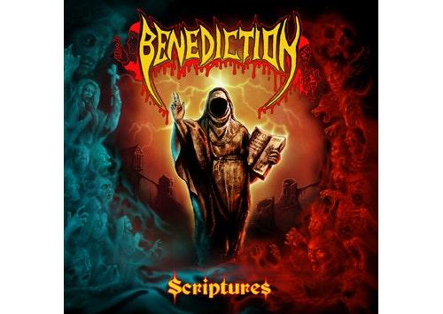 """BENEDICTION - """"Scriptures"""" erhältlich!"""