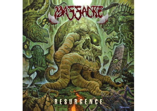 """MASSACRE - """"Resurgence"""" Is Out Today!"""